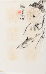 Li Kuchan (1898–1983)  Sketches of Flowers (12)