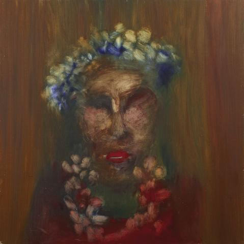 Sidney Nolan (1917-1992) Adelaide Lady with Flower Garland, 1964