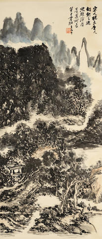 Huang Binhong (1865-1955) Landscape After Song Masters