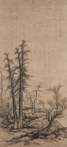 Chen Mei (1694-1745) Countryside