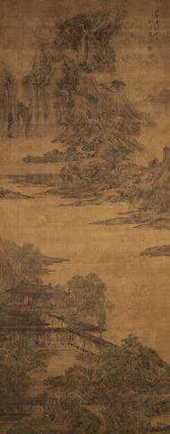 Yuan Yao (active 1746-1780)  Palace by the River