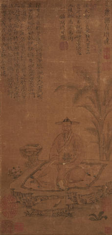 Anonymous Portrait of Gu Ying (1310-1369)