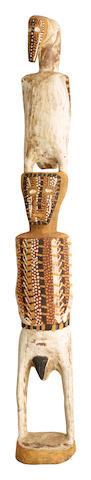 Paddy Henry (Teeampi) Ripijingimpi (circa 1925-1999) Tiwi Totem Carving, 1979