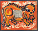 Bui Xuan Phai (Vietnamese, 1920-1988) Still Life and Pig (New Year Wishes) (2)