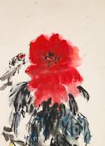 Qi Baishi (1864-1957)  Peony