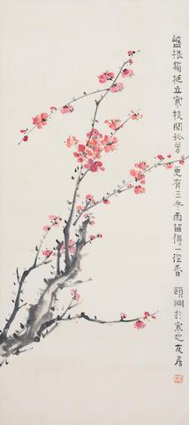 Jing Hengyi (1877-1938) Plum Blossoms