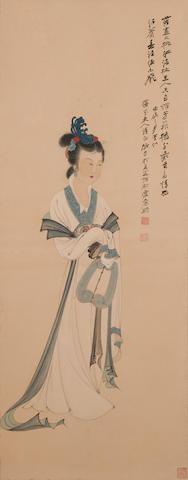 Zhang Daqian (1899-1983)  Lady