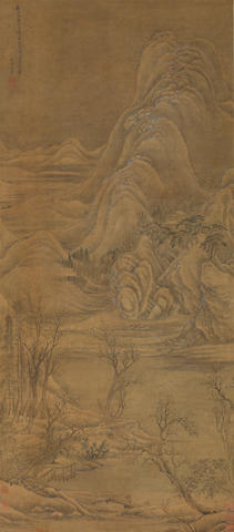 Wang Hui (1632-1717) Majestic Snowscape After Li Cheng (919-967)