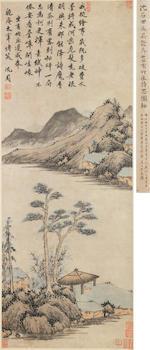 Shen Zhou (1427-1509)  The Bamboo Villa