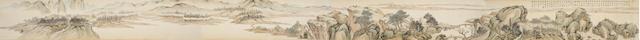 Lin Shu (1852-1924) Landscape of Dongting Lake