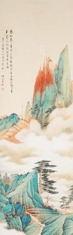 Hu Ruosi (1916-2004) Landscape