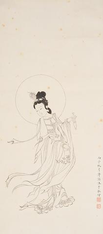 Pu Ru (1896-1963) Guanyin