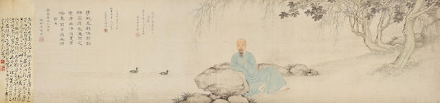 Wang Chongjie (1605-1667) and Wang Wu (1632-1690) Portrait of Wang Jian (1598-1677)