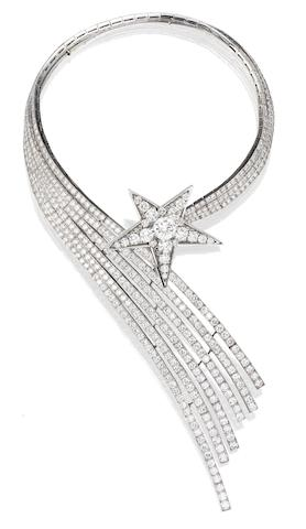 A Fine Diamond 'Comète' Necklace, by Chanel,