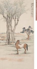 Zhao Shuru (1874-1945)  War Horse