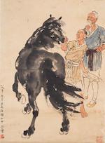 Xu Beihong (1895-1953)  Jiufang Gao and the Horse