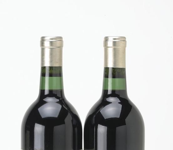 Penfolds Yattarna Chardonnay 1994, South Australia (2) Penfolds Block 42 Kalimna Cabernet Sauvignon 1996, South Australia (3)