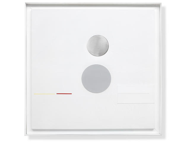 Richard Lin (Lin Show-Yu) 1933-2011 Painting Relief 1961