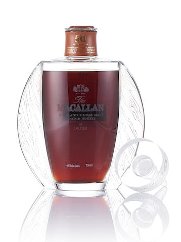 Macallan Lalique-50 year old
