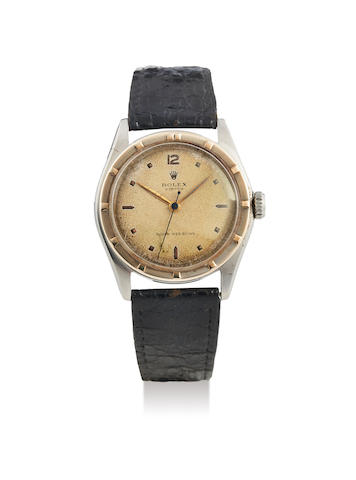 Rolex. A Stainless Steel Wristwatch