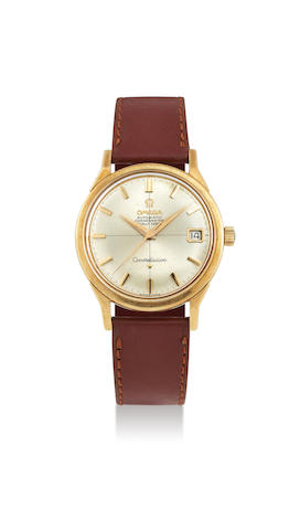 Omega. A Yellow Gold Constellation Wristwatch