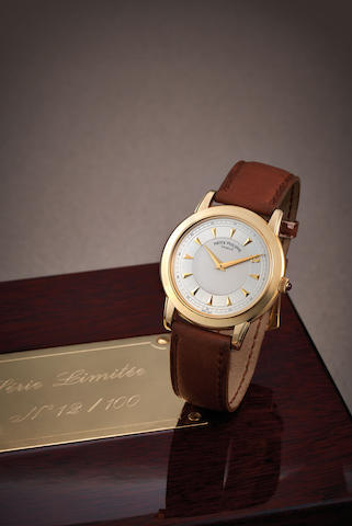 Patek Philippe. A Limited Edition Yellow Gold Wristwatch