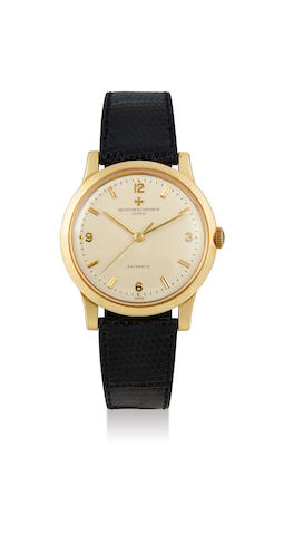 Vacheron Constantin. A Fine Yellow Gold Centre Seconds Wristwatch