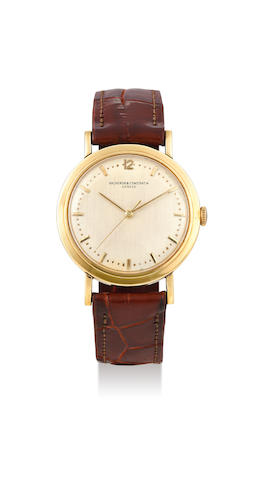 Vacheron Constantin. A Yellow Gold Wristwatch