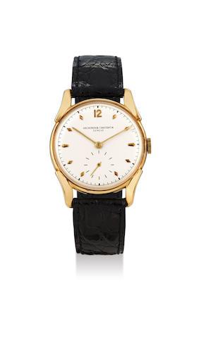 Vacheron Constantin. A Yellow Gold Wristwatch