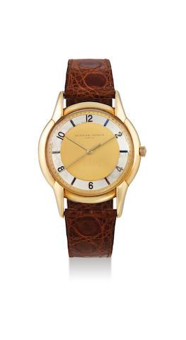 Vacheron Constantin. An Oversized Yellow Gold Centre Seconds Wristwatch, Circa 1953