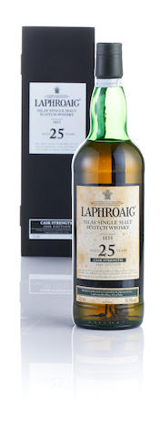 Laphroaig Cask Strength-25 year old