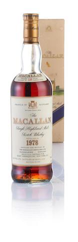 Macallan-1978-18 year old