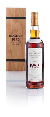 Macallan Fine & Rare-1952-49 year old