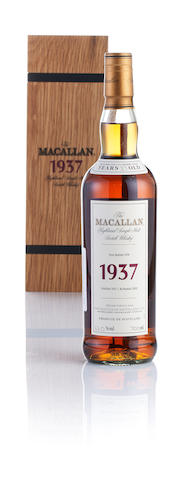 Macallan Fine & Rare-1937-37 year old