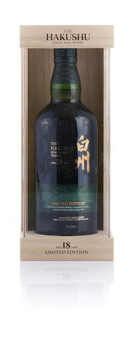 白州 Hakushu-18 year old-Limited Edition