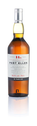 Port Ellen 14th Annual release-1978-35 year old