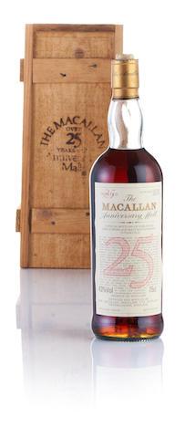 Macallan Anniversary-1958/59-25 year old
