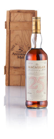 Macallan Anniversary-1964-25 year old