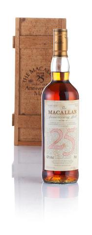 Macallan Anniversary-1968-25 year old
