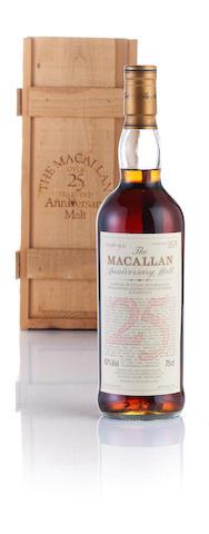 Macallan Anniversary-1970-25 year old