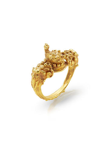 A GOLD RING CAMBODIA